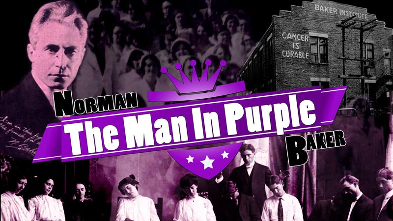 The Man In Purple Norman Baker
